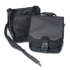 Kensington® SaddleBag Laptop Carrying Case - 14-1/4 x 6-1/2 x 16-1/2 - Black