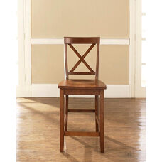 X-Back Bar Stool with 24