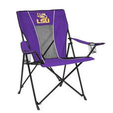 Louisiana State University Team Logo Game Time Folding Chair