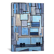 Composition No. 9, 1914 by Piet Mondrian Gallery Wrapped Canvas Artwork