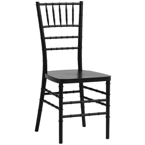 Our 1000 lb. MAX Black Resin Steel Core Chiavari Chair is on sale now.