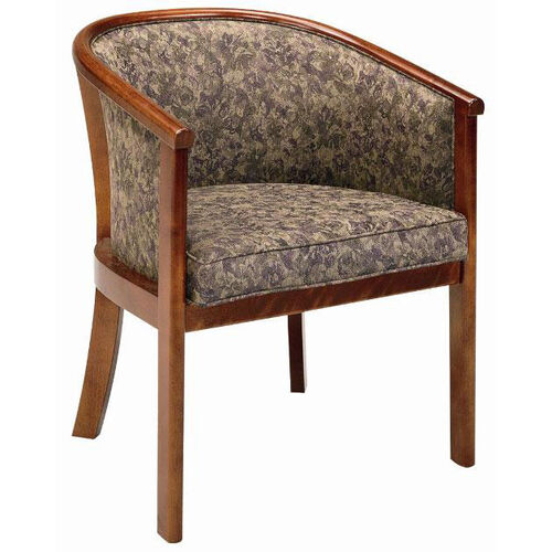 2652 Lounge Chair w/ Upholstered Back & Seat - Grade 1