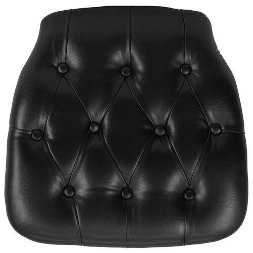Our Hard Black Tufted Vinyl Chiavari Chair Cushion is on sale now.