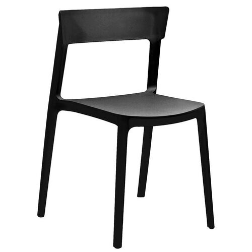 Our Rho Black Modern Stackable Side Chair - Set of 4 is on sale now.