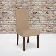 Greenwich Series Beige Fabric Parsons Chair