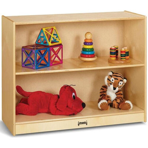 Our Short Straight 2 Shelf Mobile Wooden Bookcase - 36