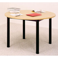 Round Library Table
