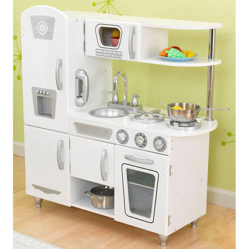 Our Kids Wooden Make-Believe Simple Kitchen Play Set - White is on sale now.