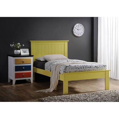 Our Prentiss Wooden Bed with Panel Headboard - Queen - Yellow is on sale now.