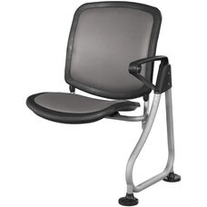 Ready Link Row Add-On Chair - Charcoal