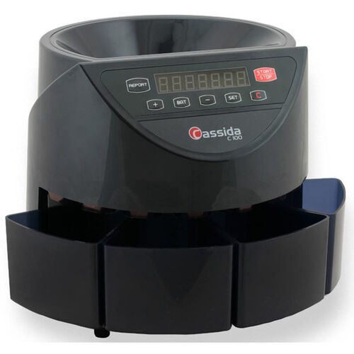Our C100 Electronic Coin Counter and Sorter - 250 Coins/Minute is on sale now.