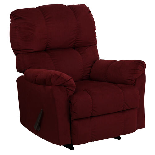 Our Contemporary Top Hat Microfiber Rocker Recliner is on sale now.