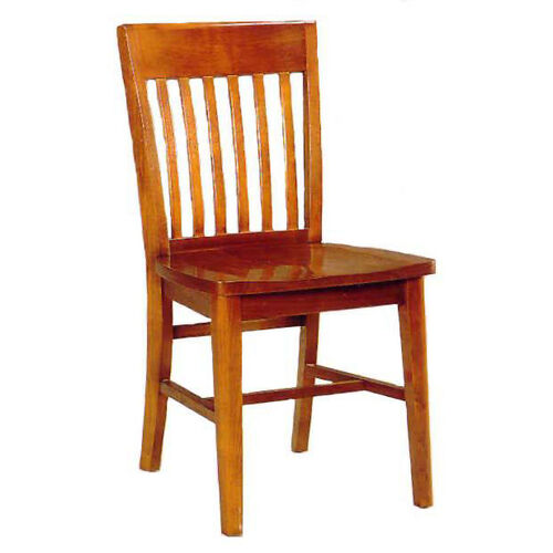 1993 Side Chair with Wood Seat