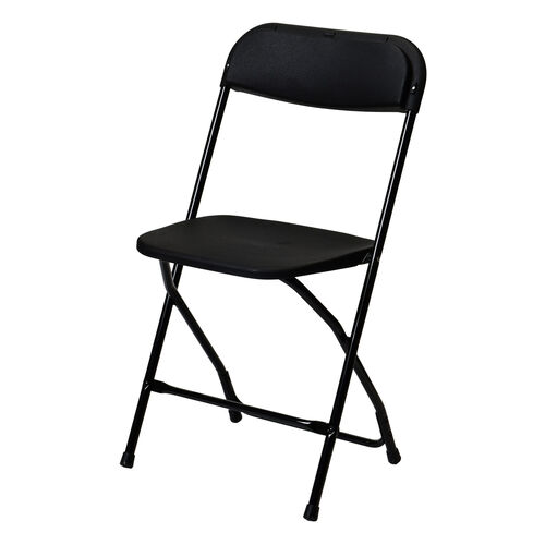 Our 500 lb. Max Black with Black Frame Poly Performance Folding Chair is on sale now.