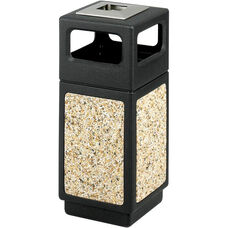 Canmeleon™ 15 Gallon Indoor or Outdoor Aggregate Receptacle - Black