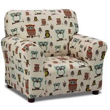 Kids Hooty - Village/Natural Club Chair