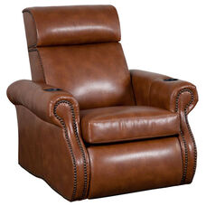 Bradford Theater Seat in Bonded Leather