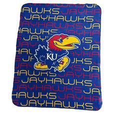 University of Kansas Team Logo Classic Fleece Throw