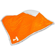 University of Tennessee Team Logo Sherpa Throw