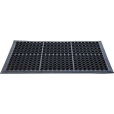 Doortex Anti-Fatigue Open Top Mat - Black