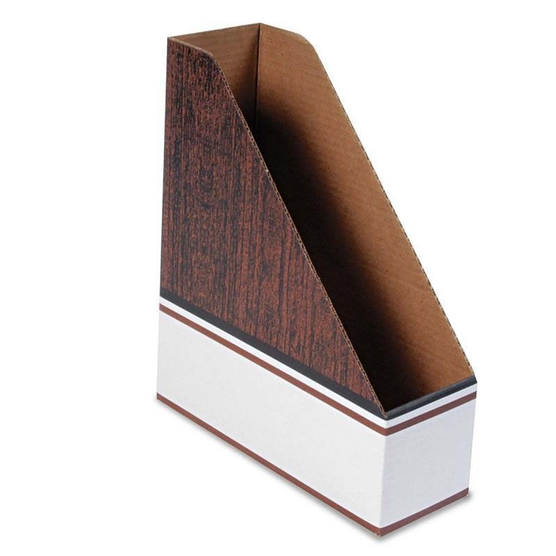 ... Our Bankers Boxu0026reg; Corrugated Cardboard Magazine File   4 X 11 X 12 3/