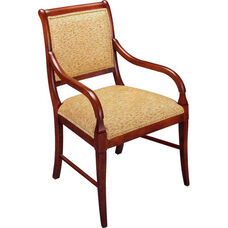 656 Arm Chair w/ Upholstered Back &Web Seat - Grade 1