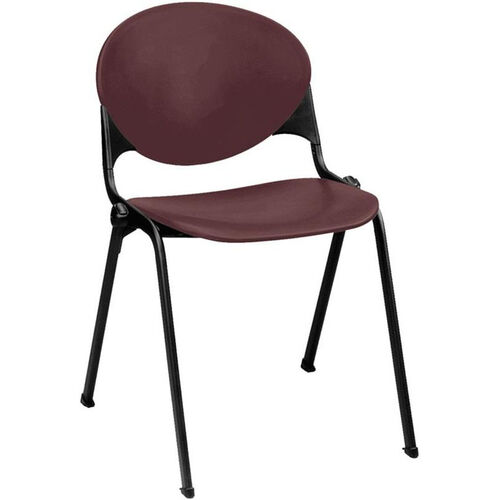 2000 Series Stacking Multipurpose Polypropylene Chair with Steel Frame