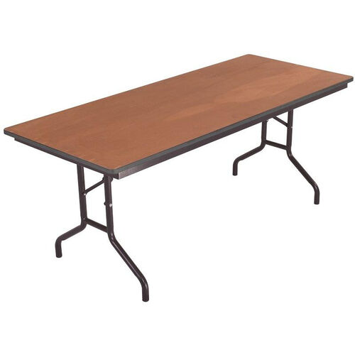 Our Sealed and Stained Plywood Top Table with Vinyl T - Molding Edge - 24