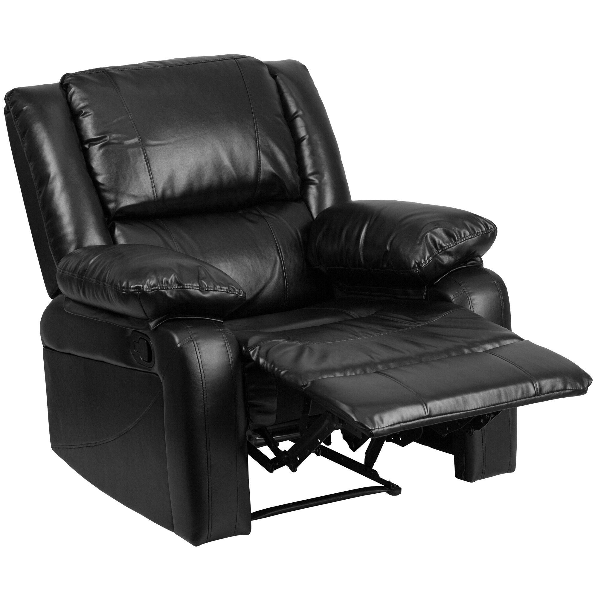 Fine Harmony Series Black Leather Recliner Cjindustries Chair Design For Home Cjindustriesco