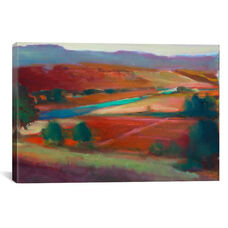 Valley View I by Eddie Barbini Gallery Wrapped Canvas Artwork