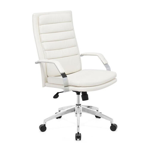 Director Comfort Office Chair in White