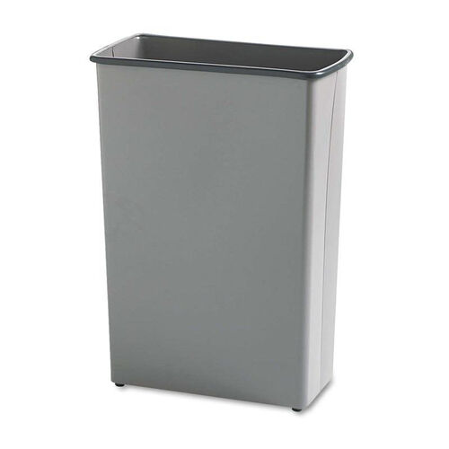 Our Safco® Rectangular Wastebasket - Steel - 22gal - Charcoal is on sale now.