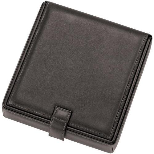 Our Watch and Cufflink Travel Case - Sedona New Bonded Leather - Black is on sale now.
