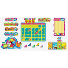 Trend Enterprises Owl-Stars Calendar Bulletin Board Set