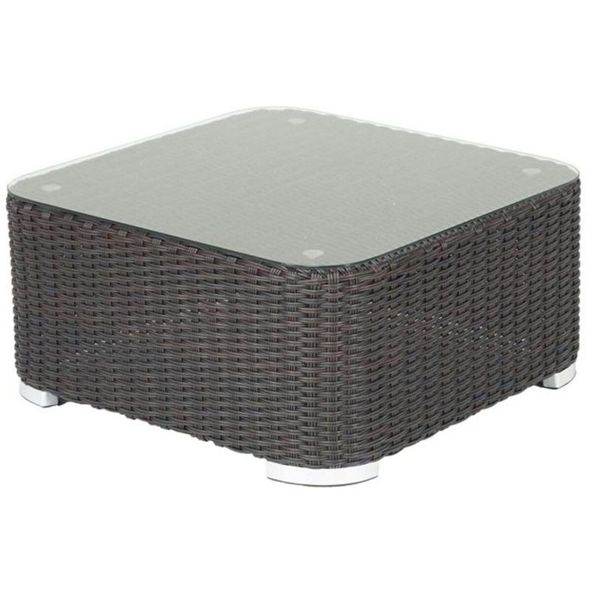 Our Apollo Beach Collection Outdoor Wicker Coffee Table With Glass Top Indo Is On