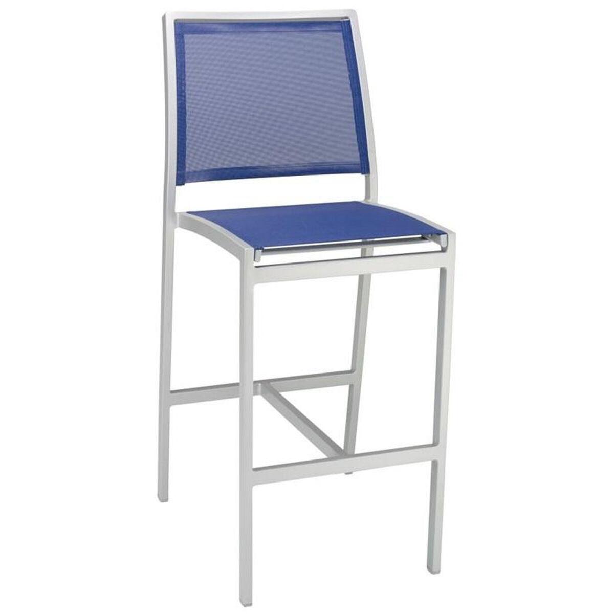 Outdoor Armless Barstool Bal 5724 S Blue Bizchair Com