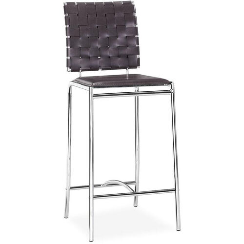 Our Criss Cross Counter Stool in Espresso is on sale now.