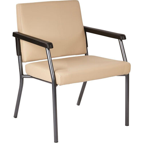 Our Work Smart Bariatric Big & Tall Guest Chair with 300 lb. Weight Capacity - Dillion Buff Antimicrobial Vinyl is on sale now.