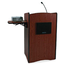 Amplivox Uhf Wireless Multimedia Computer Lectern - 25.5
