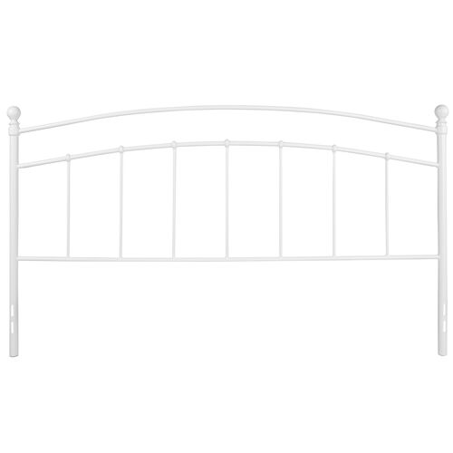 Our Woodstock Decorative White Metal King Size Headboard is on sale now.