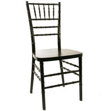 American Classic Black Wood Chiavari Chair