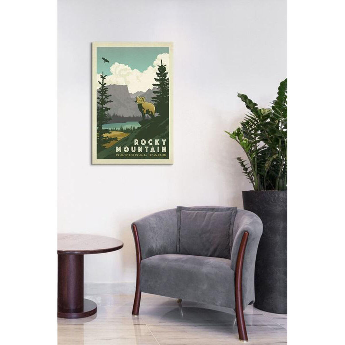 Canvas Artwork Floating Frame ADG227-1PC6-26x18-FF01 | Bizchair.com