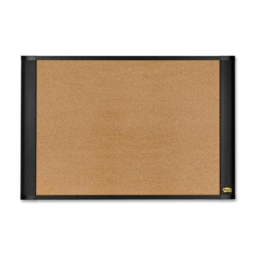 3M Cork Bulletin Board - Self Sticking - Brown
