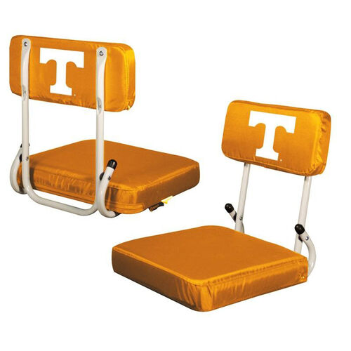 Our University of Tennessee Team Logo Hard Back Stadium Seat is on sale now.