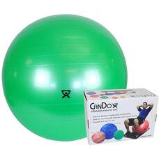 CanDo® Inflatable Green Exercise Ball - 26