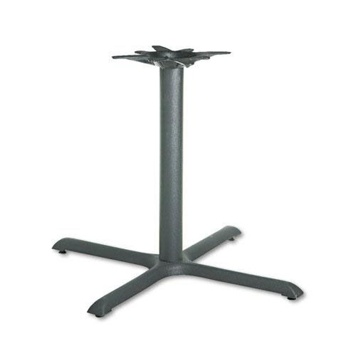 Our HON® Single Column Cast Iron Base - 36w x 36d x 27-7/8h - Black is on sale now.