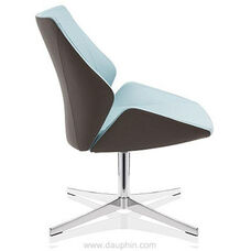 Executive Lounge Chair on 4-Star Base - Grade A
