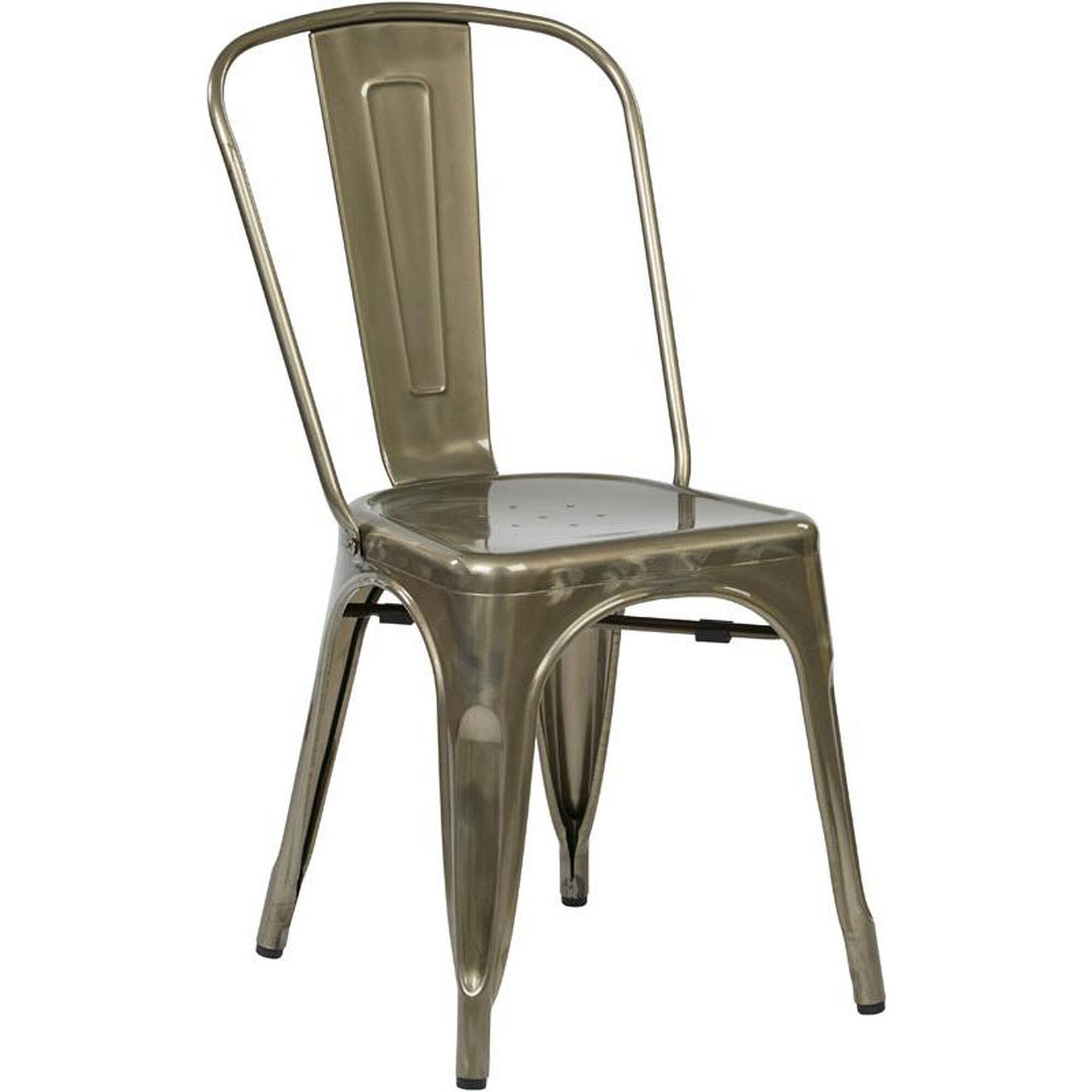 Set Of 2 Gunmetal Stacking Chair Brw29a2 Gm Bizchair Com