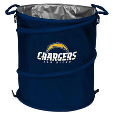 San Diego Chargers Team Logo Collapsible 3-in-1 Cooler Hamper Wastebasket