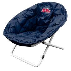 University of Mississippi Team Logo Folding Sphere Chair